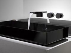 Miscelatore per lavabo a 3 fori con rosette separateDEQUE | Miscelatore per lavabo a 3 fori - DORNBRACHT