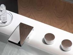 Rubinetto per lavabo a 3 fori con rosette separateDEQUE | Rubinetto per lavabo - DORNBRACHT