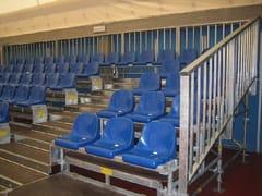 Sistema modulare per tribune in metalloStrutture per Tribune - CONDOR