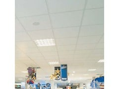 Pannelli per controsoffitto in fibra mineralePLAIN - ARMSTRONG CEILING SOLUTIONS