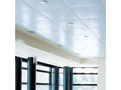 Pannelli per controsoffitto acustico in metallo CLIP-IN - ARMSTRONG CEILING SOLUTIONS