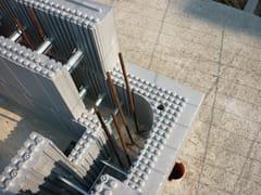 Casseri isolanti a rimanere in Neopor per pareti in c.a.ARGISOL - BIOISOTHERM