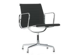 Sedia a 4 razze con braccioli EA 107 - Aluminium Group Chairs