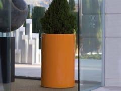 VONDOM, CILINDRO ALTO Vaso da giardino luminoso in polietilene