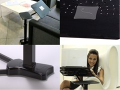 Supporto per notebook LOUNGE-BOOK BLACK - LOUNGE-TEK