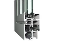 Reynaers Aluminium, Eco System 50 Sistema in alluminio per finestre e porte a battente