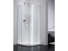 Provex Industrie, COMBI CR Box doccia semicircolare in vetro