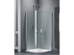 Provex Industrie, ELEGANCE QE Box doccia semicircolare in vetro