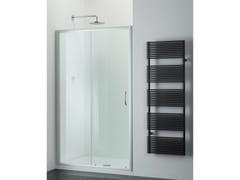 Provex Industrie, ARCO AN Box doccia in vetro con porta scorrevole