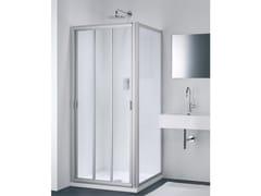 Provex Industrie, CLASSIC FC + WC Box doccia in vetro con porta scorrevole