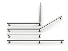 Maniglione bagno fisso in acciaio400 STEEL SG 01 | Maniglione bagno - PROVEX INDUSTRIE