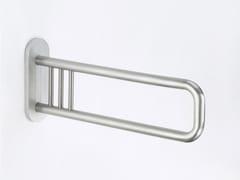 Maniglione bagno ribaltabile in acciaio satinato300 STEEL SG 03 - 04 - PROVEX INDUSTRIE