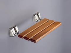 Sedile doccia ribaltabile in legno200 RD - PROVEX INDUSTRIE