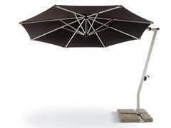 FISCHER MÖBEL, SUNSET Ombrellone in alluminio con palo laterale