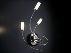 Lampada da parete in metallo cromato con braccio flessibile FREE SPIRIT | Lampada da parete - Free Spirit