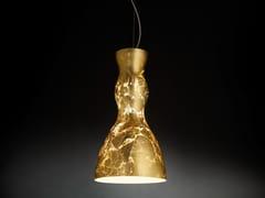 Lampada a sospensione foglia oro SCHERZO | Lampada a sospensione - Scherzo