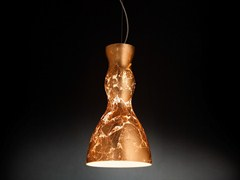 Lampada a sospensione foglia rame SCHERZO | Lampada a sospensione - Scherzo