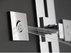 Soffione laterale da incasso orientabileSOLAR | Soffione laterale - GRAFF