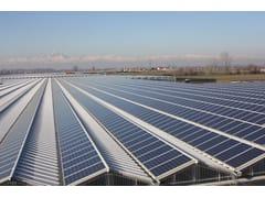 Supporto per impianto fotovoltaicoSerre fotovoltaiche - CMM