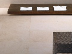 Pavimento/rivestimento in gres porcellanato a tutta massa effetto pietraPIETRE HIGH-TECH - CREMA EUROPA - ARIOSTEA