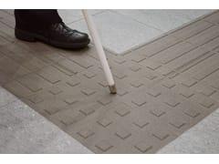 Pavimento tattile in gres porcellanato a tutta massa per interni ed esterniAUTONOMY - MARAZZI