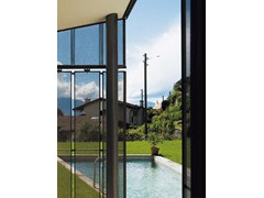 Lamiera stirata spianata per rivestimenti di facciataTECU® Design_flatmesh - KME