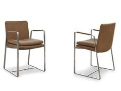 Sedia design con braccioli SHINE | Sedia con braccioli -