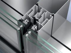 Facciata strutturale vetrataSchüco SFC 85 - SCHÜCO INTERNATIONAL ITALIA