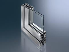Schüco, Schüco ASS 70 FD Porta-finestra a libro a taglio termico in alluminio