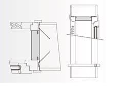 Sistema per serramento monoblocco con persianaANTE - EDILCASS