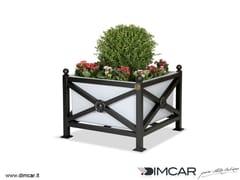 DIMCAR, Fioriera Orchidea Maxi Fioriera per spazi pubblici in metallo