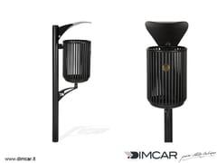 Portarifiuti interrato in metallo per esterni con coperchioCestino Rudiae - DIMCAR
