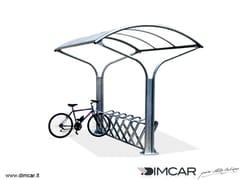 DIMCAR, Ciclo Park Porta bici con pensilina
