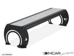 Panchina in metallo in stile moderno senza schienalePanca Osiria - DIMCAR