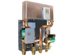 Stazione per produzione di acqua calda sanitariaAQUALDA - ROSSATO GROUP