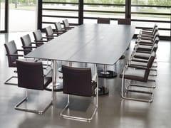 Tavolo da riunione rettangolare in MDF SPIRA | Tavolo da riunione rettangolare - Spira