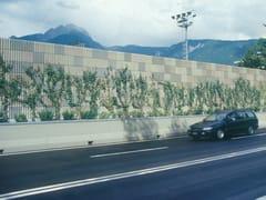 Barriera acustica stradaleFONOLECA NERVATO - EDIL LECA - DIVISIONE INFRASTRUTTURE
