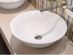 Lavabo da appoggio rotondo in ceramica BOLL | Lavabo da appoggio - Boll