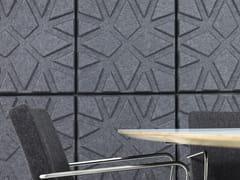 Offecct, SOUNDWAVE® GEO Pannelli decorativi acustici in fibra di poliestere