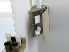 Pensile bagno ad angolo singolo con ante METROPOLIS 8 | Pensile bagno - Metropolis