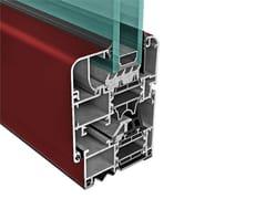 Finestra alluminio GREEN a taglio termicoPLANET NEO 62 - ALSISTEM