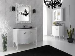 Mobile lavabo laccato con ante NARCISO 1 - Narciso