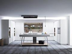 Cucina componibile con isola KALEA - COMPOSIZIONE 4 - Kalea