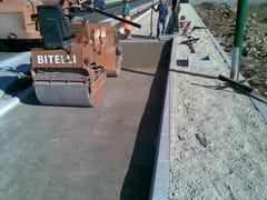 Muscatelli, Glorit/A Pavimentazione stradale in terra stabilizzata