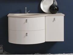 Mobile lavabo laccato sospeso COMPOS 192 - Compos