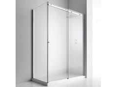 RELAX, AXIA SF + F1 Box doccia con porta scorrevole