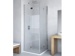 RELAX, LIGHT AS + AS Box doccia con porta a soffietto