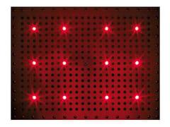 Soffione doccia a led da incasso con cromoterapia DREAM RECTANGULAR LIGHT RGB CROMOTHERAPY - Dream