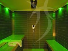 Happy Sauna, Cabina ELEMENTI E MOMENTI Sauna / bagno turco