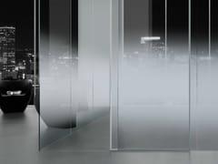 Vitrealspecchi, MADRAS® NUVOLA Vetro satinato progressivo per pareti divisorie